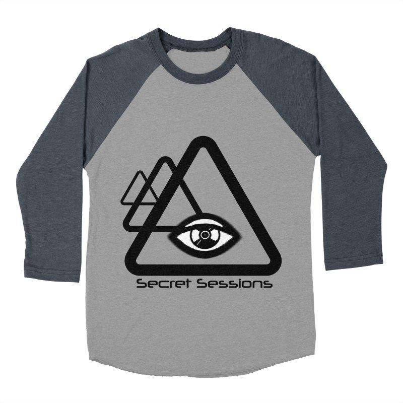 Secret Sessions Women's Baseball Triblend T-Shirt by itelchan's Artist Shop