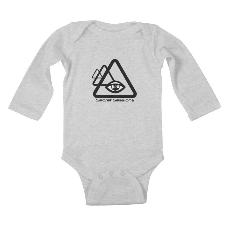 Secret Sessions Kids Baby Longsleeve Bodysuit by itelchan's Artist Shop