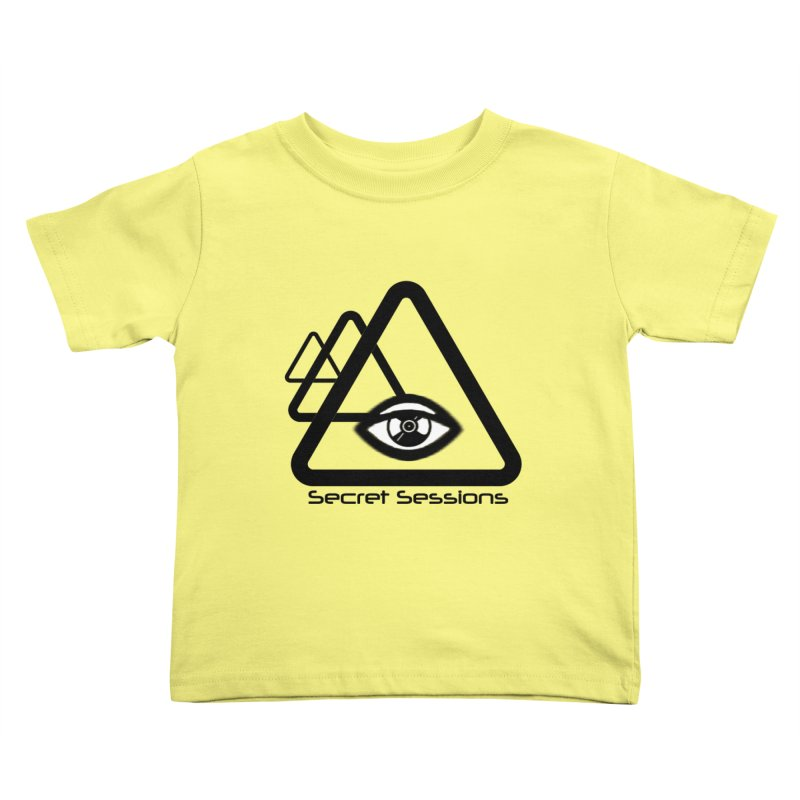 Secret Sessions Kids Toddler T-Shirt by itelchan's Artist Shop