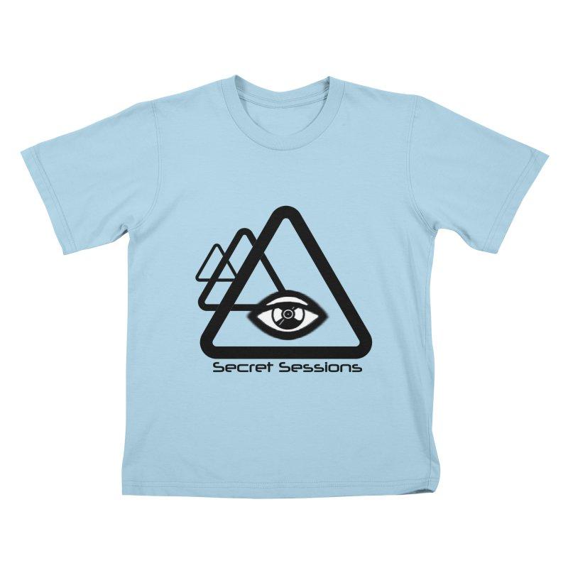 Secret Sessions Kids T-shirt by itelchan's Artist Shop