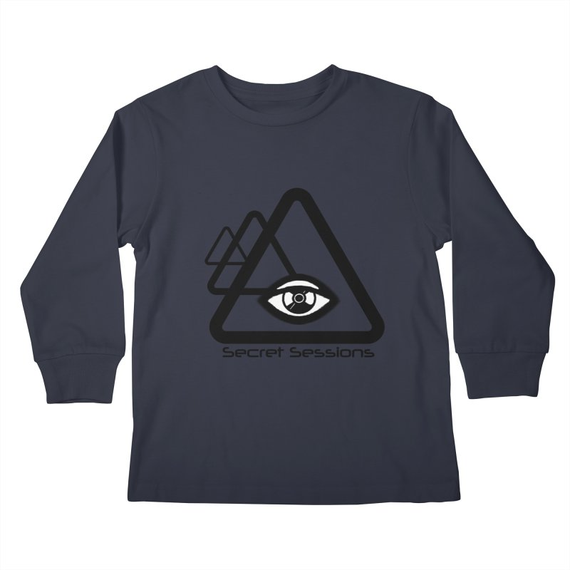 Secret Sessions Kids Longsleeve T-Shirt by itelchan's Artist Shop