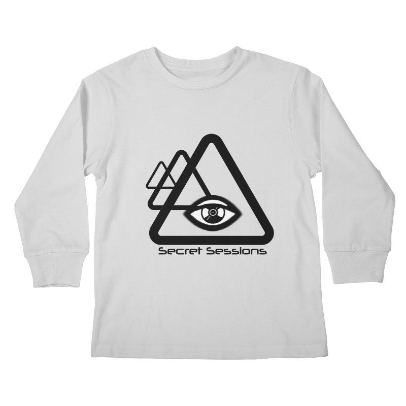 Secret Sessions Kids Longsleeve T-Shirt by itelchan's Artist Shop