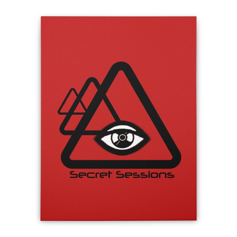 Secret Sessions Home Stretched Canvas by itelchan's Artist Shop