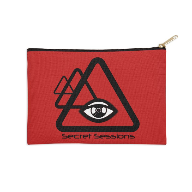 Secret Sessions Accessories Zip Pouch by itelchan's Artist Shop