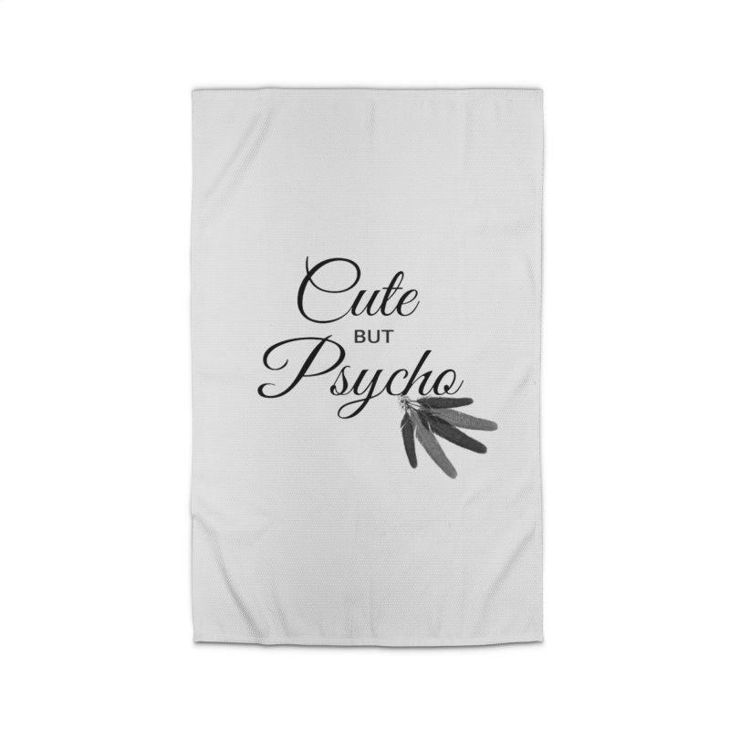 Cute But Psycho Home Rug by itelchan's Artist Shop