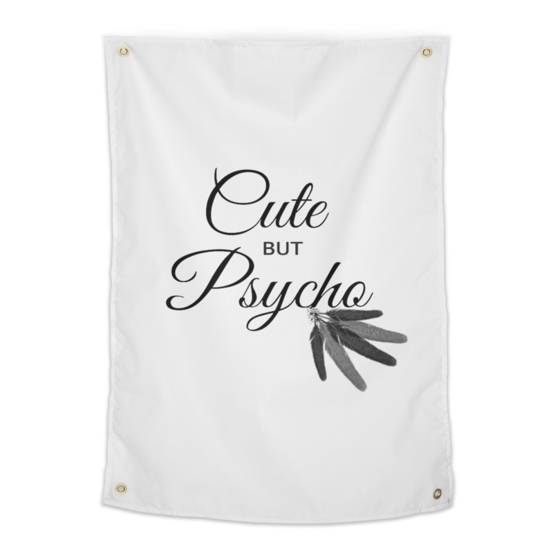 Cute But Psycho Home Tapestry by itelchan's Artist Shop