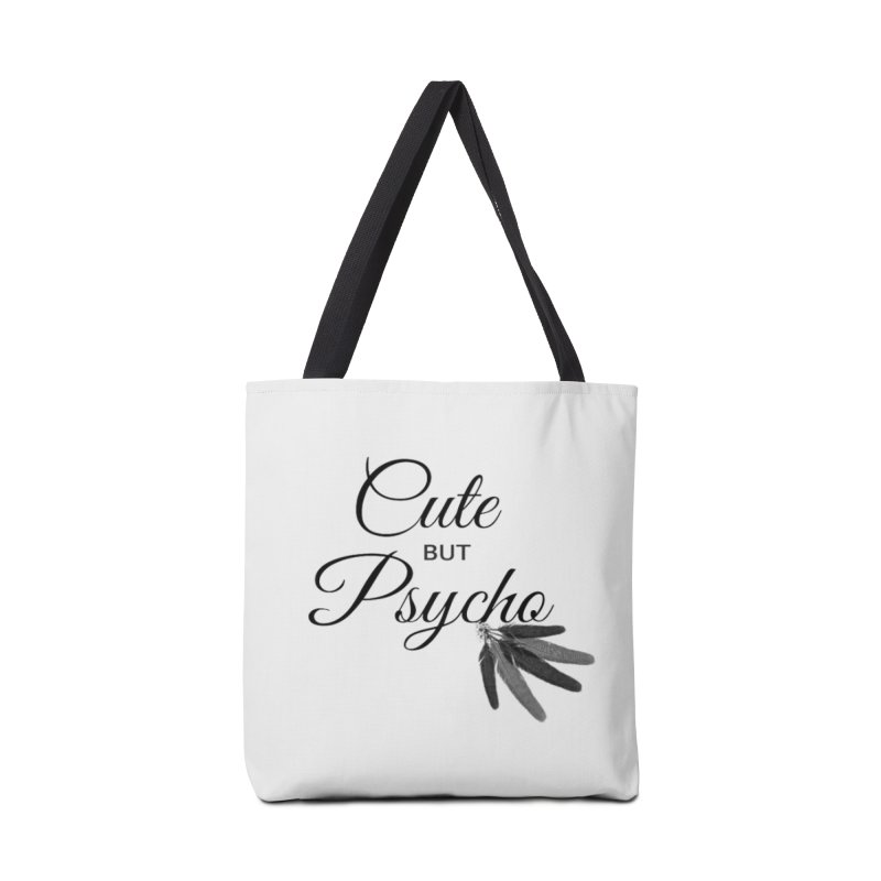 Cute But Psycho Accessories Bag by itelchan's Artist Shop