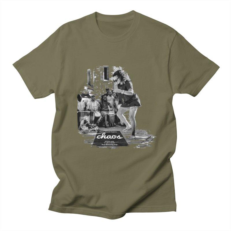 Chaos Dancing Star Women's Unisex T-Shirt by itelchan's Artist Shop