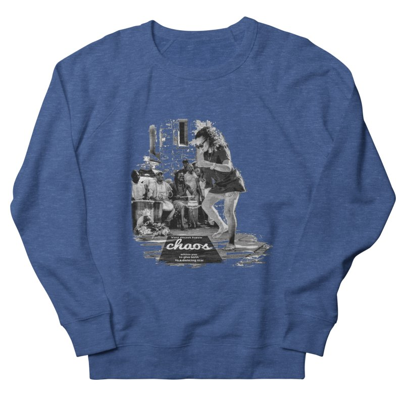 Chaos Dancing Star Men's Sweatshirt by itelchan's Artist Shop