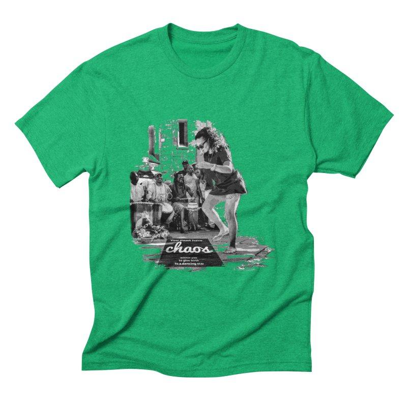 Chaos Dancing Star Men's Triblend T-Shirt by itelchan's Artist Shop