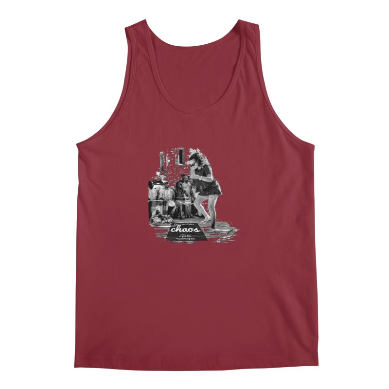 Chaos Dancing Star Men's Tank by itelchan's Artist Shop