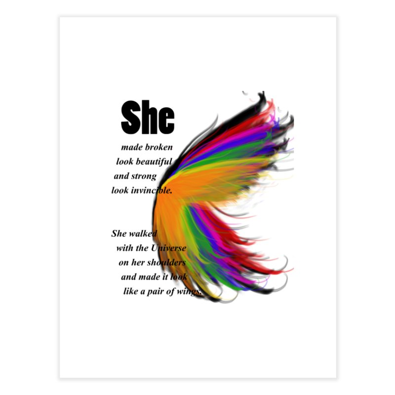 She has wings   by itelchan's Artist Shop