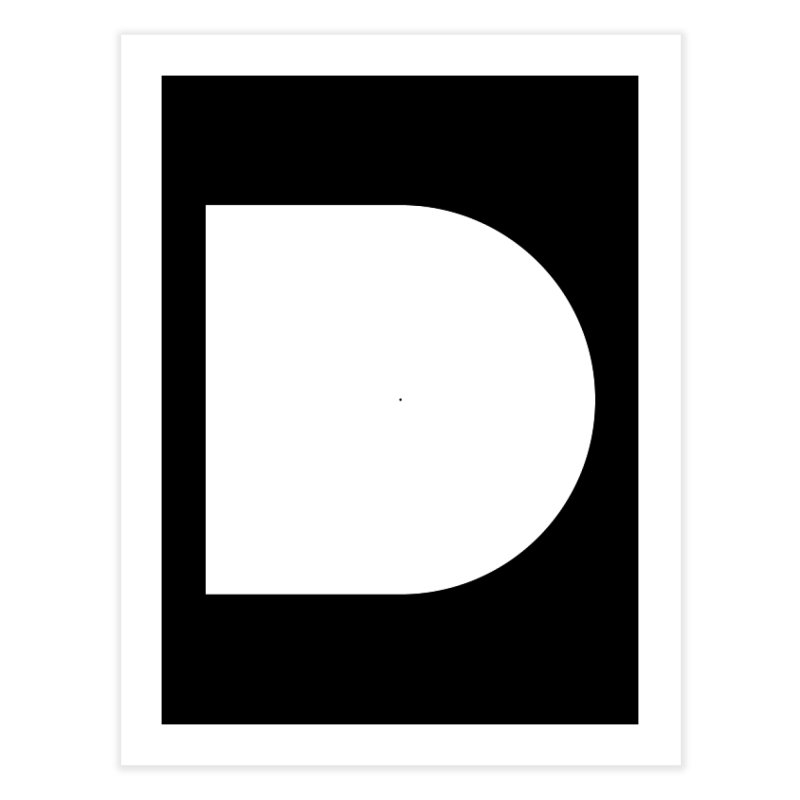 D Home Fine Art Print by Iterative Work