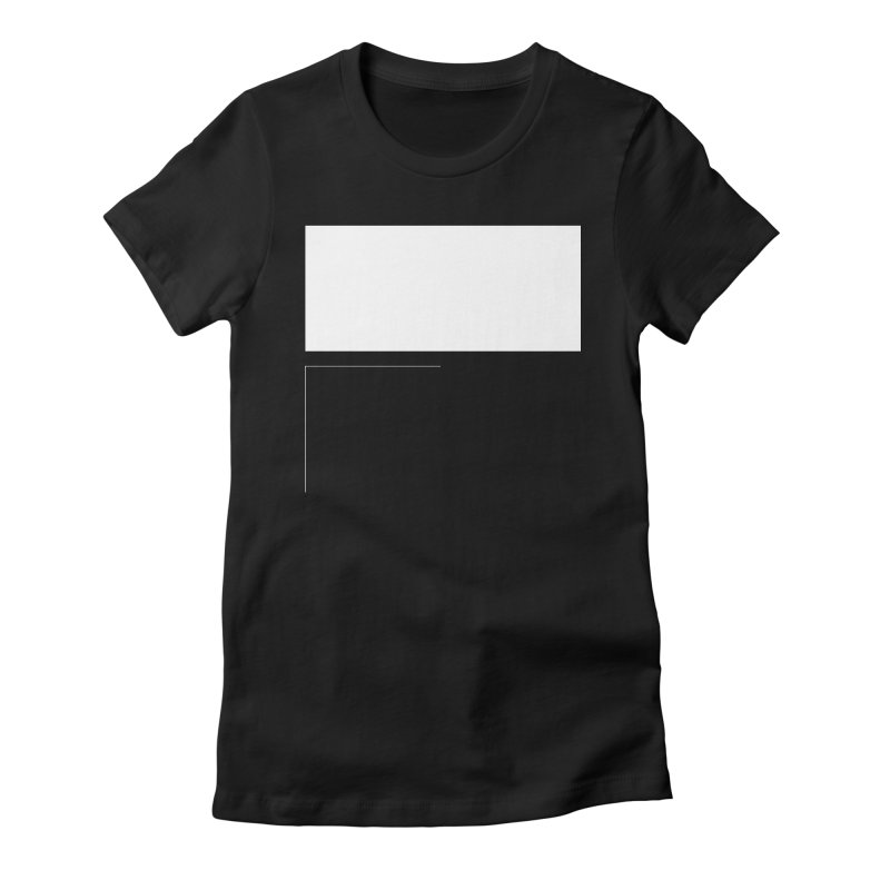 F Women's Fitted T-Shirt by Iterative Work