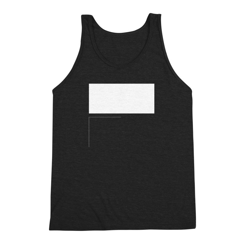 F Men's Triblend Tank by Iterative Work