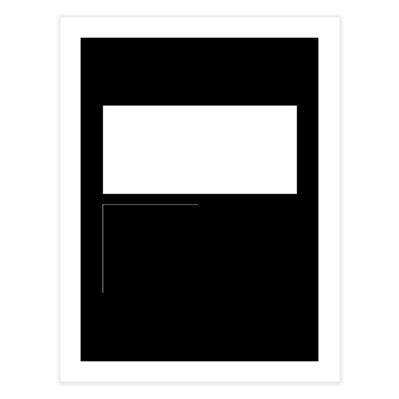 F Home Fine Art Print by Iterative Work