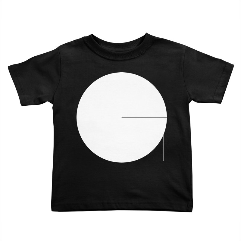 G in Kids Toddler T-Shirt Black by Iterative Work