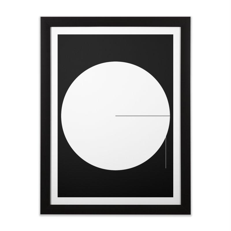 G in Framed Fine Art Print Black by Iterative Work