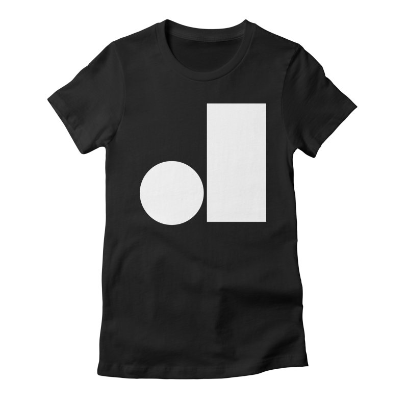 J Women's Fitted T-Shirt by Iterative Work