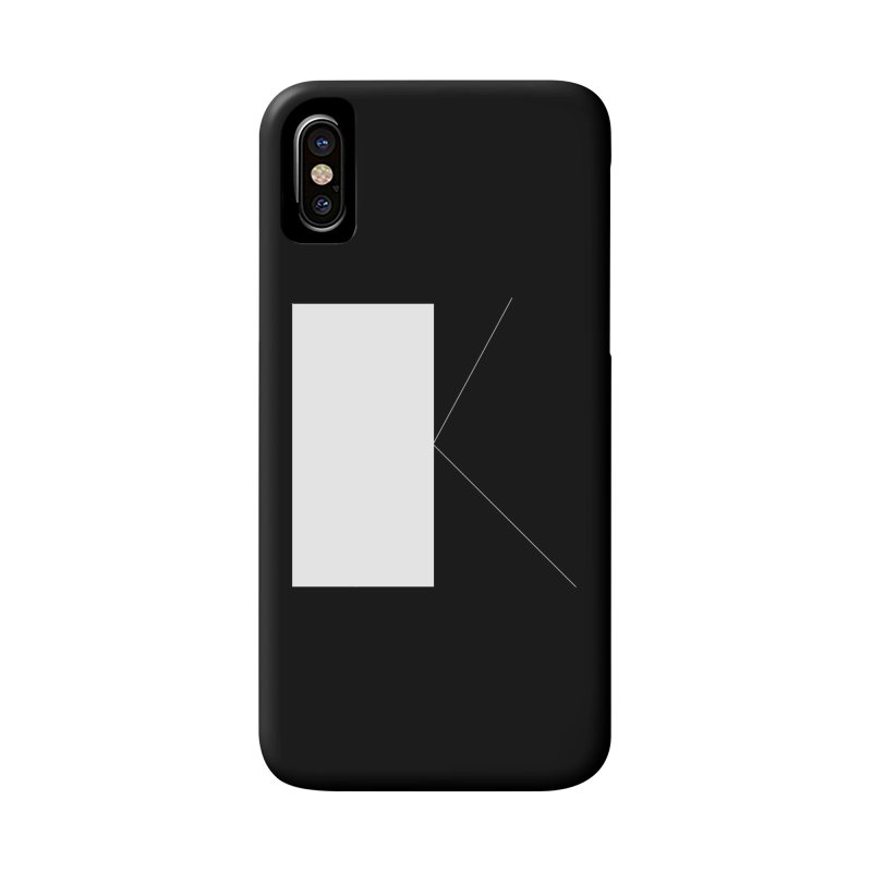 K Accessories Phone Case by Iterative Work