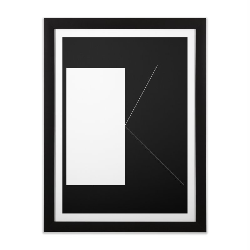 K Home Framed Fine Art Print by Iterative Work