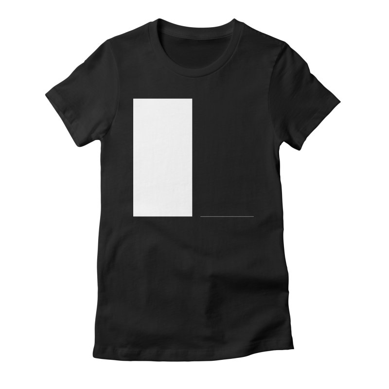 L Women's Fitted T-Shirt by Iterative Work