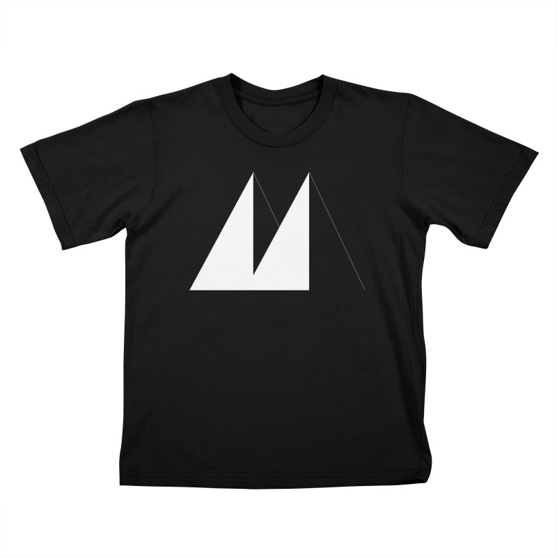 M Kids T-shirt by Iterative Work