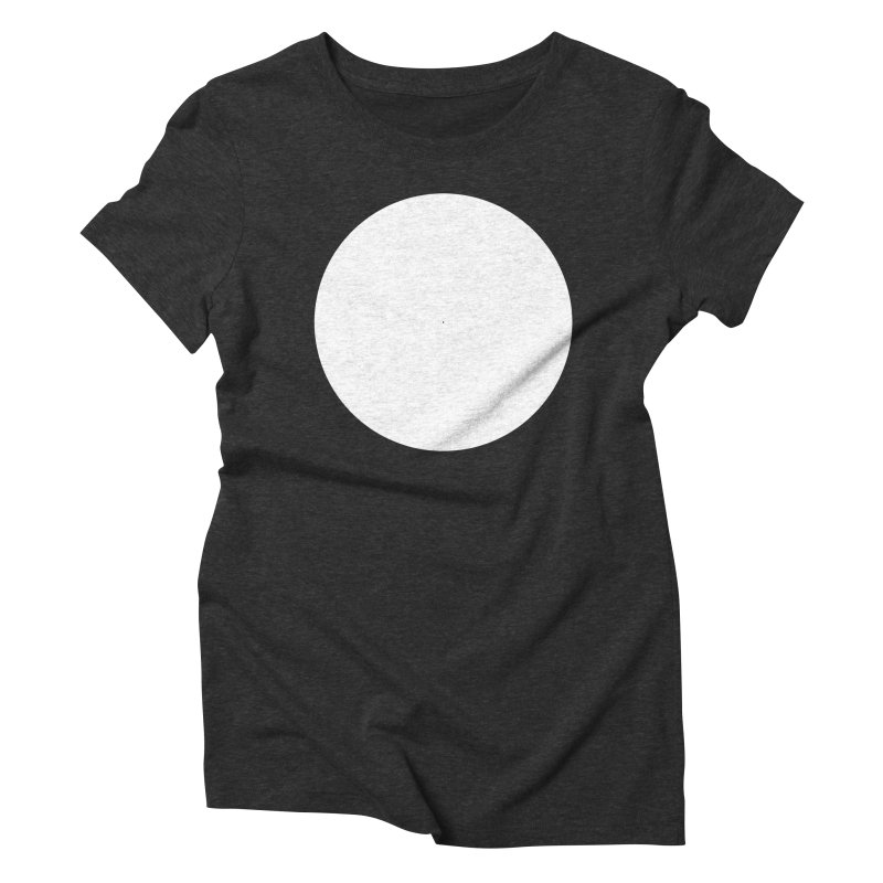 O Women's Triblend T-shirt by Iterative Work