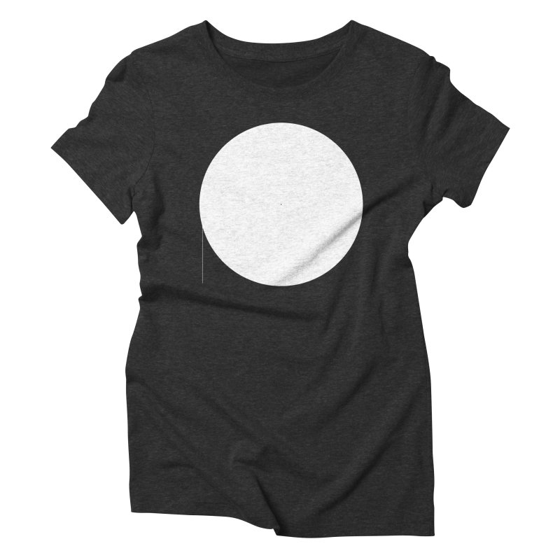 P Women's Triblend T-shirt by Iterative Work