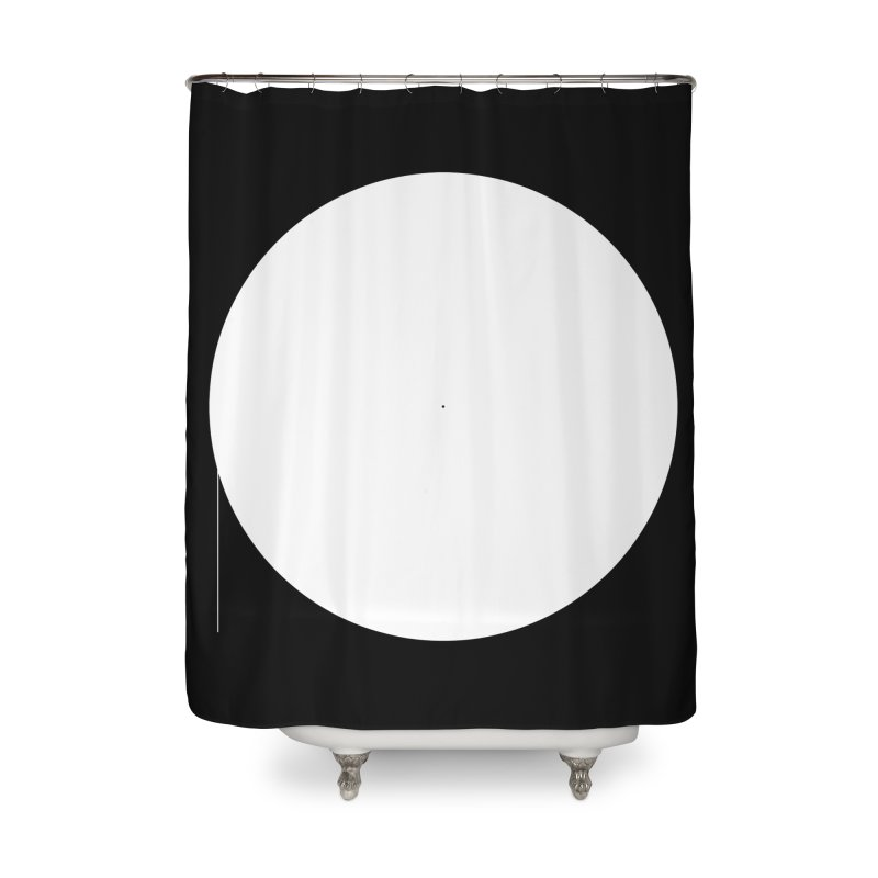 P Home Shower Curtain by Iterative Work
