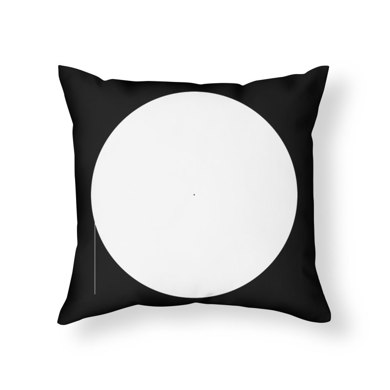 P Home Throw Pillow by Iterative Work