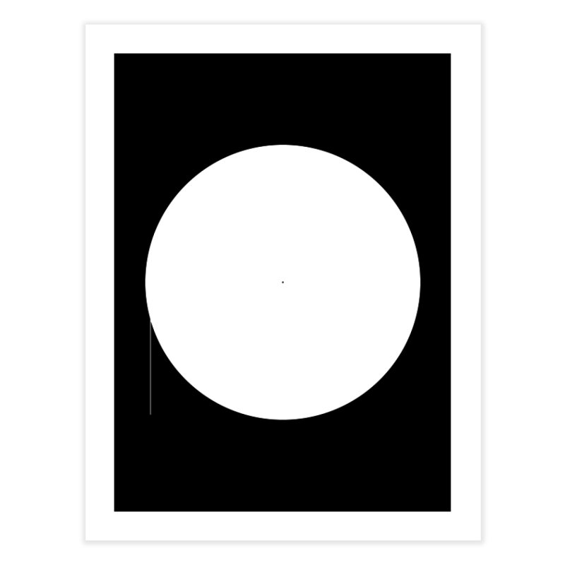 P Home Fine Art Print by Iterative Work