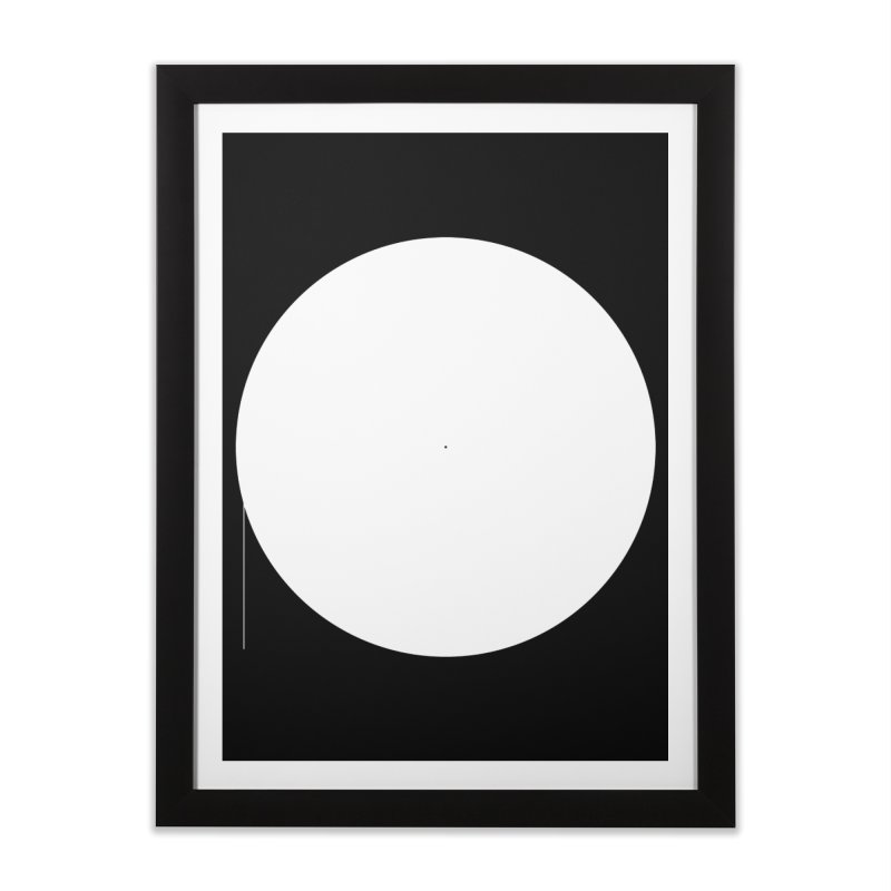 P Home Framed Fine Art Print by Iterative Work
