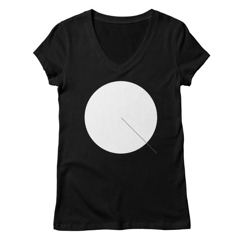 Q Women's V-Neck by Iterative Work