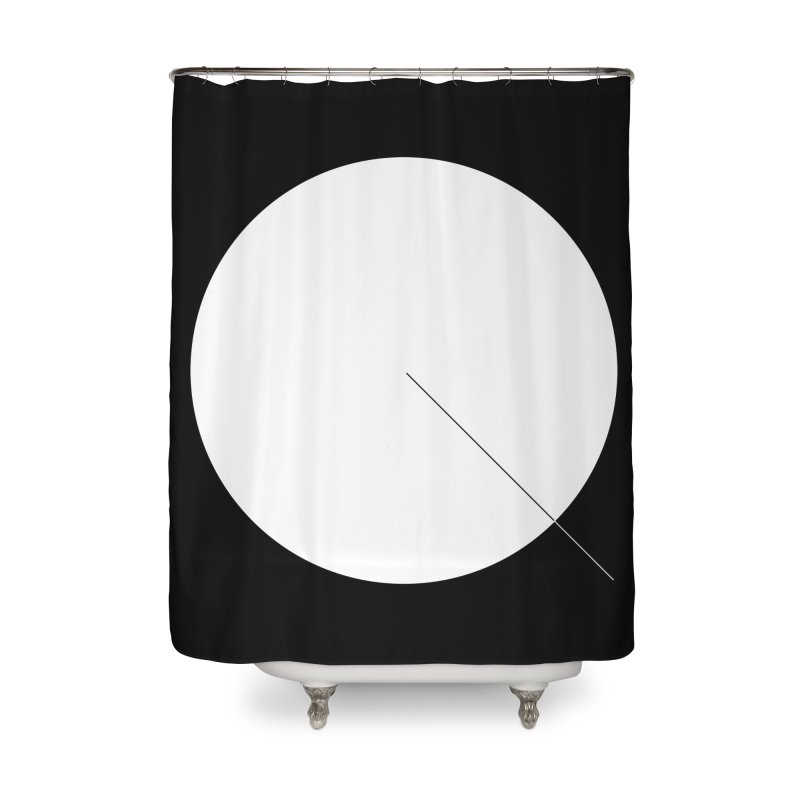 Q Home Shower Curtain by Iterative Work