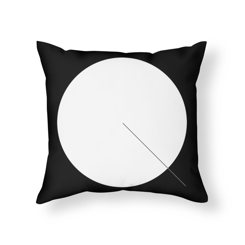 Q Home Throw Pillow by Iterative Work