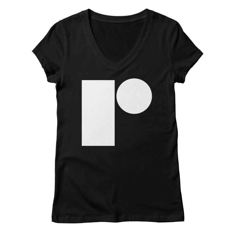 R Women's V-Neck by Iterative Work