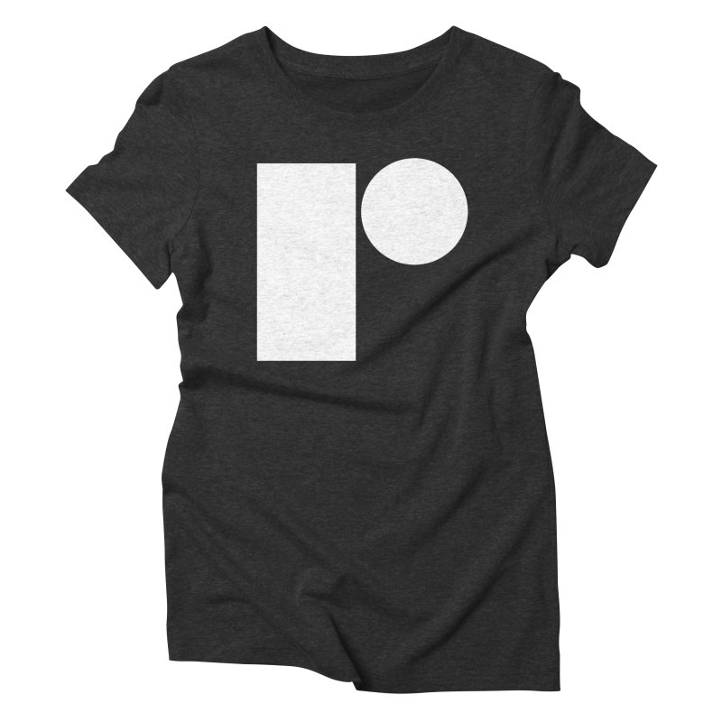 R Women's Triblend T-shirt by Iterative Work