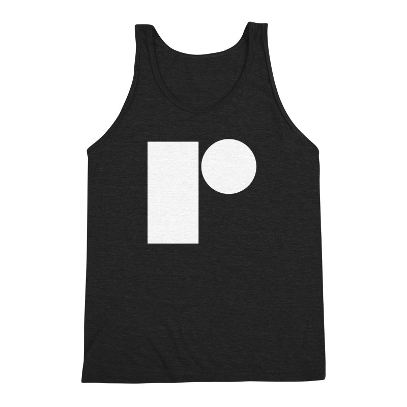 R Men's Triblend Tank by Iterative Work