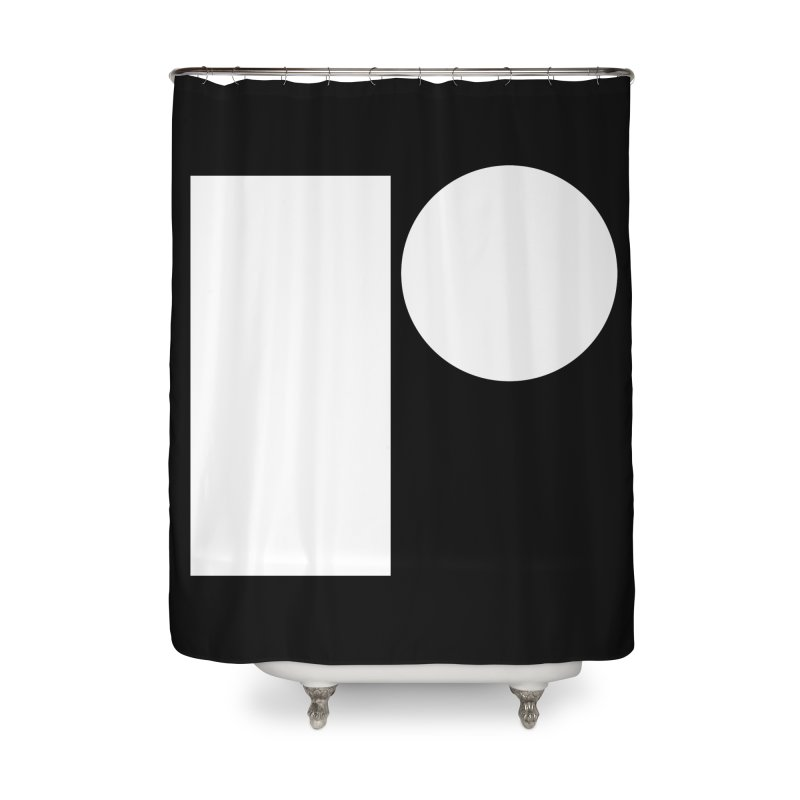 R Home Shower Curtain by Iterative Work