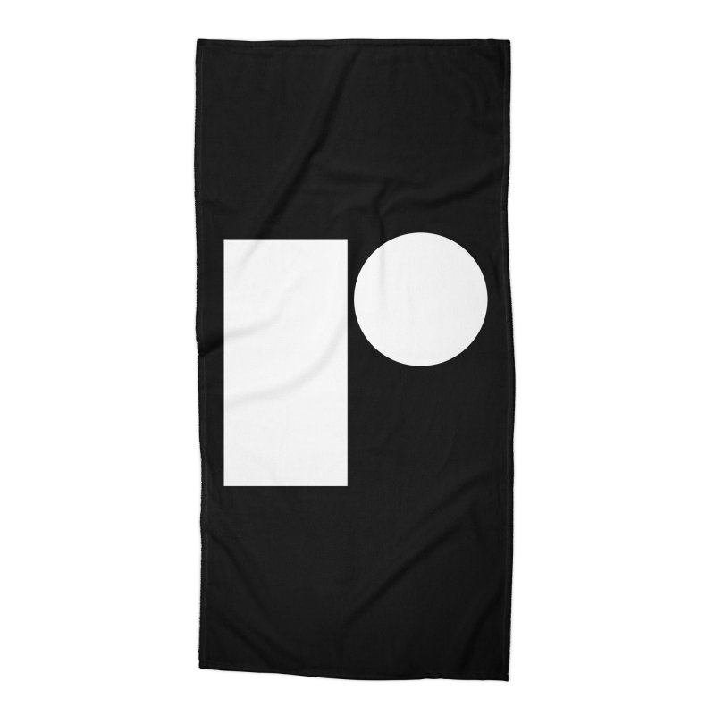 R Accessories Beach Towel by Iterative Work