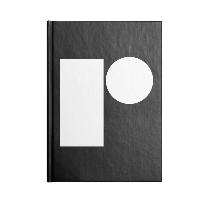 R Accessories Blank Journal Notebook by Iterative Work