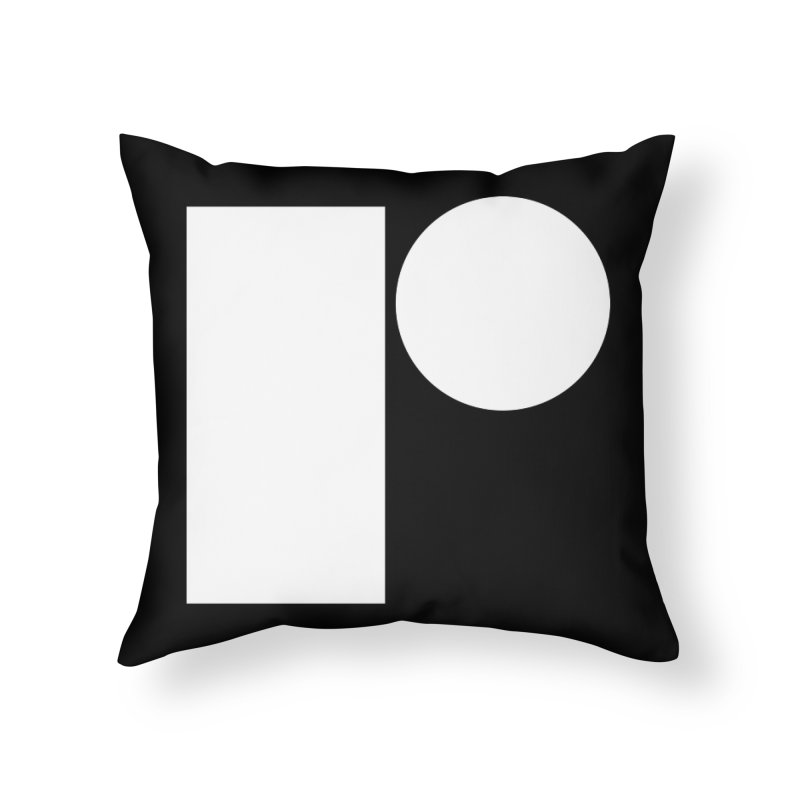 R Home Throw Pillow by Iterative Work