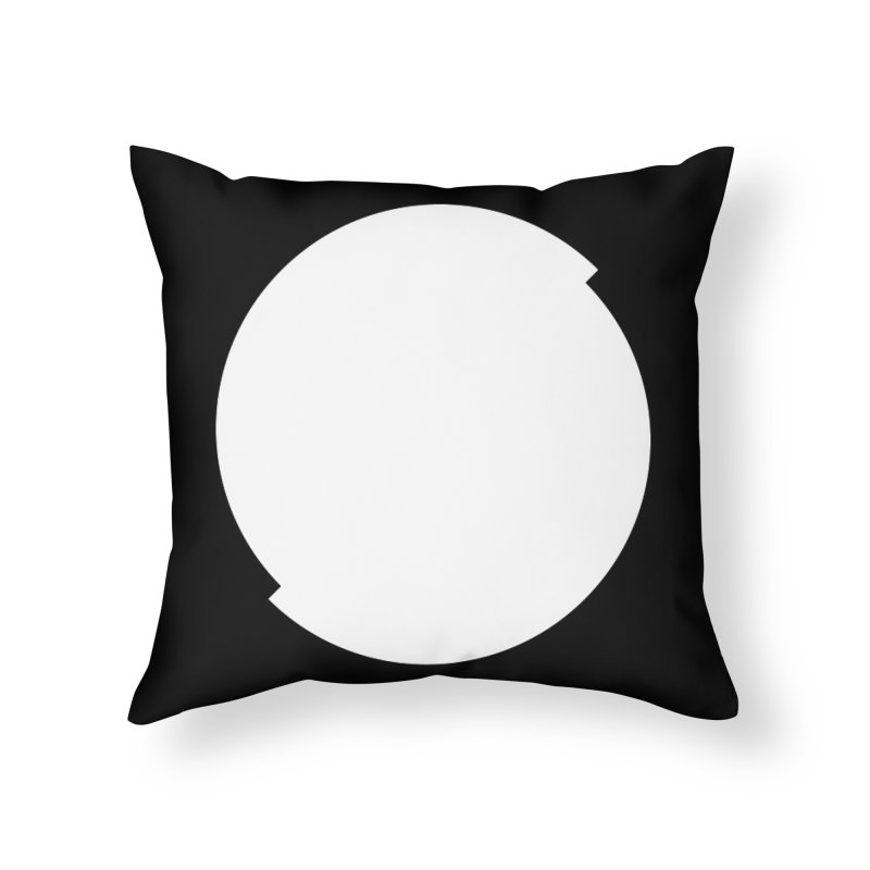 S Home Throw Pillow by Iterative Work