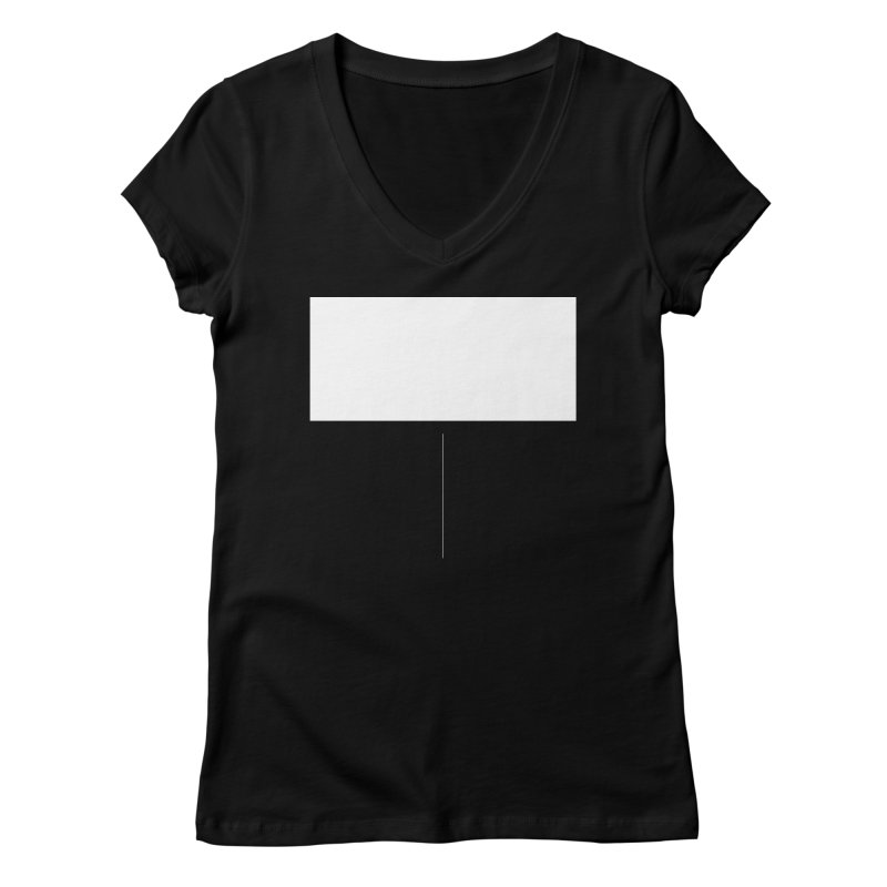 T Women's V-Neck by Iterative Work