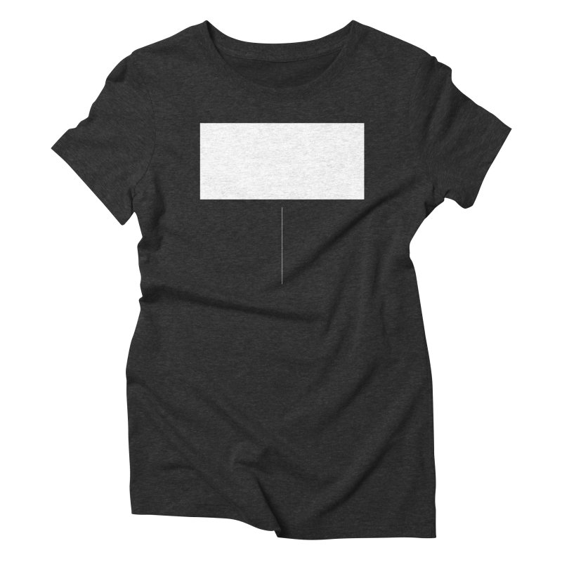T Women's Triblend T-shirt by Iterative Work