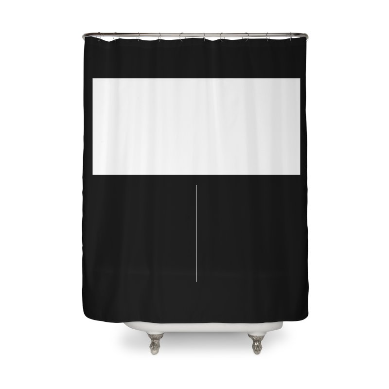 T Home Shower Curtain by Iterative Work