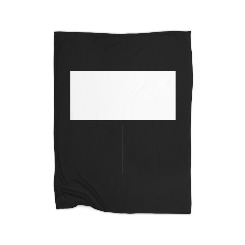 T Home Fleece Blanket Blanket by Iterative Work