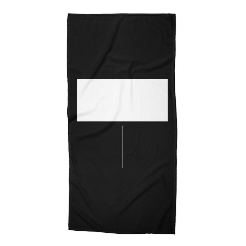 T Accessories Beach Towel by Iterative Work
