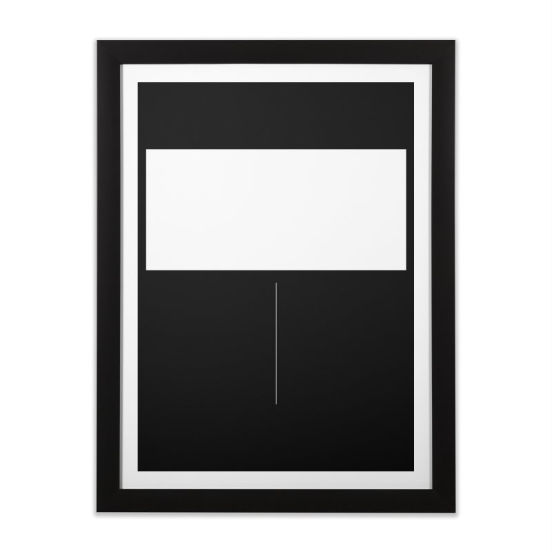 T Home Framed Fine Art Print by Iterative Work
